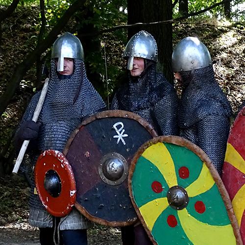 Słowiański Gąszczyk - waleczni przodkowie